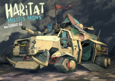 mecha car anime design