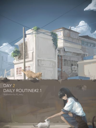 【DailyRoutine】day2 by Dyzinliz