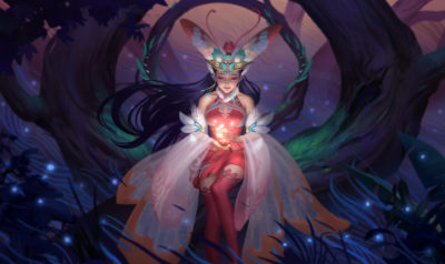 蛾仙Moth fairy maiden, Hou China_01