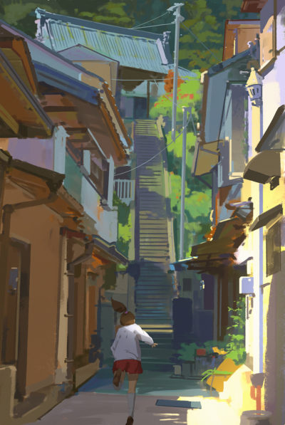 157 365 Up the stairs, Atey Ghailan_01