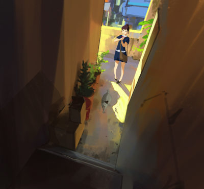 296 365 the cat returns, Atey Ghailan_01