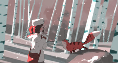 365 Days of sketching, Atey Ghailan_04