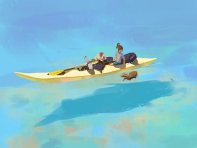 365 Days of sketching, Atey Ghailan_40