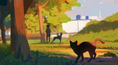 85 365 Cat adventures – Archenemy, Atey Ghailan_01
