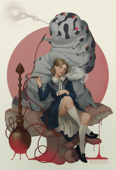 Alice in Wonderland, Mona Finden_01