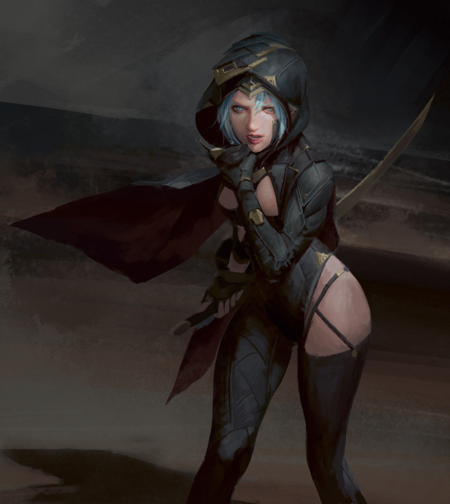 Assassin girl, YOUNG IL CHOI_02