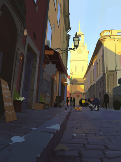 Background plate for Path of Miranda, Atey Ghailan_01