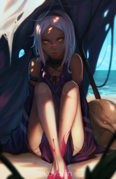 Beach Witch by こよりん