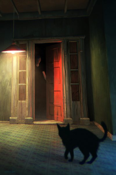 Black cat, Nikolai Lockertsen_01
