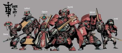 mecha character design
