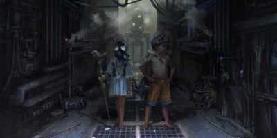 Creepy Alleyway_ Kids, Yujin Choo_01