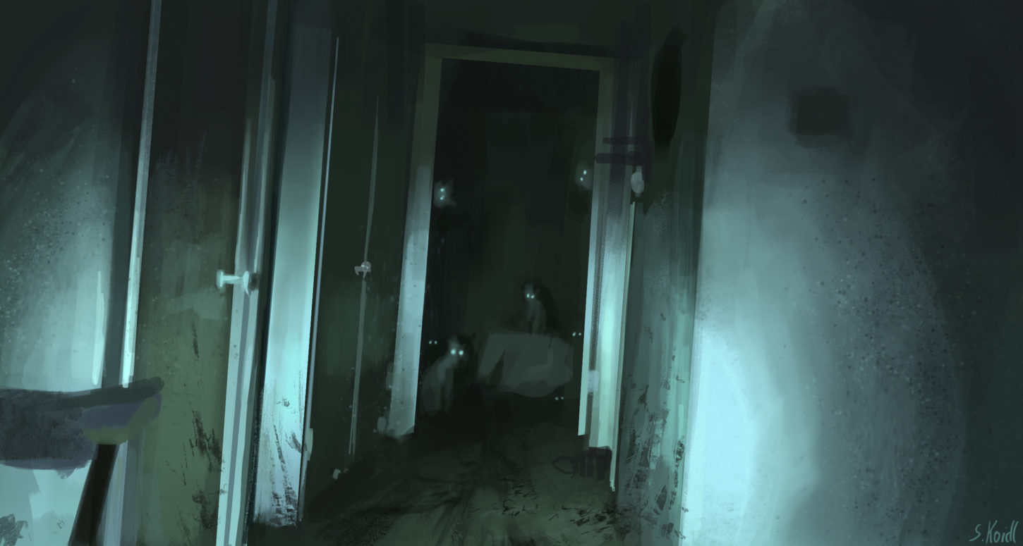 Dail Spitpaint 3 in the shadows the evil cat lurks, Stefan Koidl_03