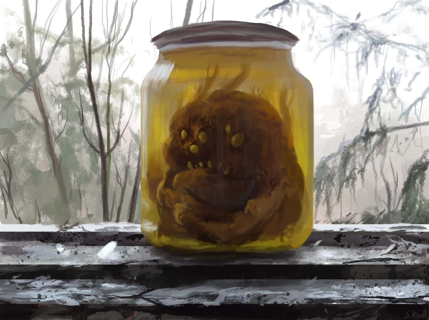 Daily Speedpaints Caught in a jar, Stefan Koidl_03