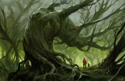 Daily Speedpaints Fallen tree, Stefan Koidl_18