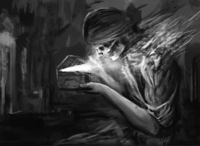 Daily Speedpaints Pandoras box, Stefan Koidl_16
