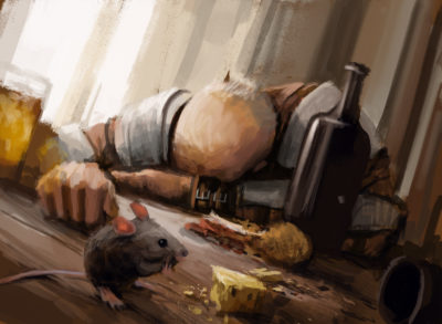 Daily Speedpaints Sleeping enemy, Stefan Koidl_10