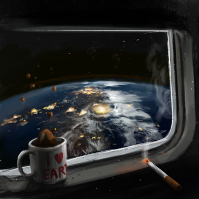 Daily Speedpaints View from the orbit, Stefan Koidl_05