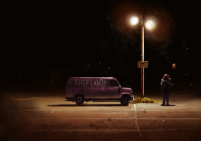 Daily Speedpaints candy van, Stefan Koidl_12