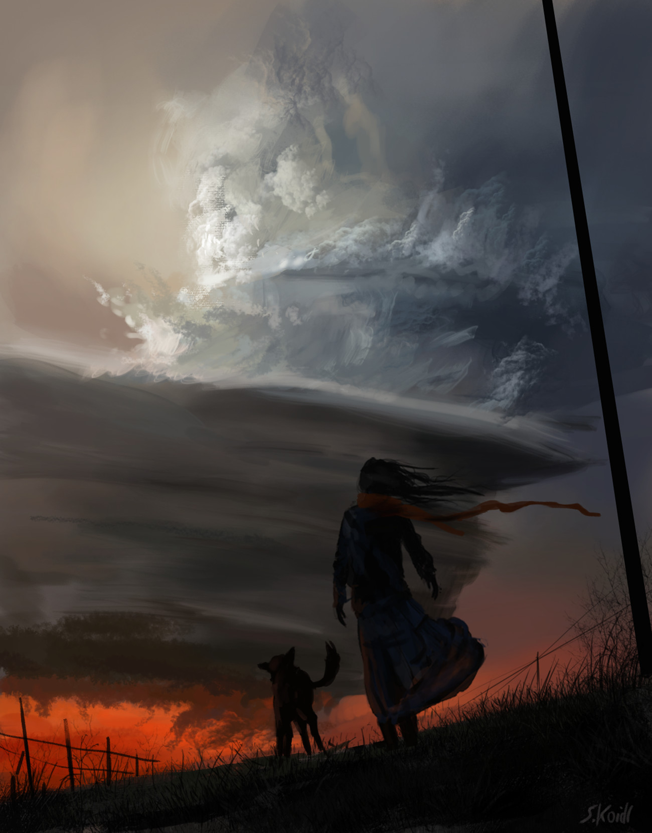 Daily Spitpaints 2 A storm is coming, Stefan Koidl_05