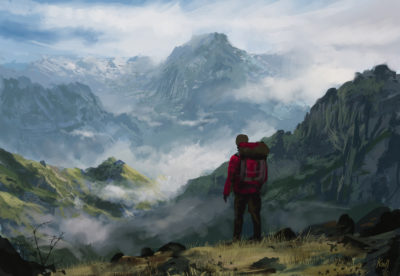 Daily Spitpaints 2 Mountain Hiking, Stefan Koidl_24
