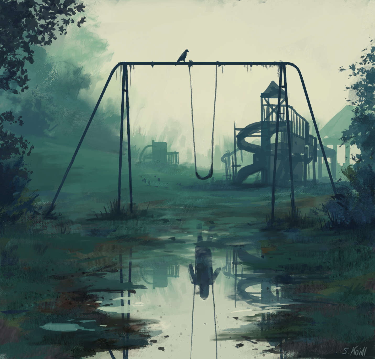 Daily Spitpaints 2 Playground swings, Stefan Koidl_18