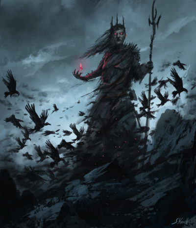 Daily Spitpaints 2 Raven king, Stefan Koidl_19
