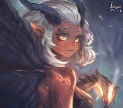 Demon girl, Seuyan art_01