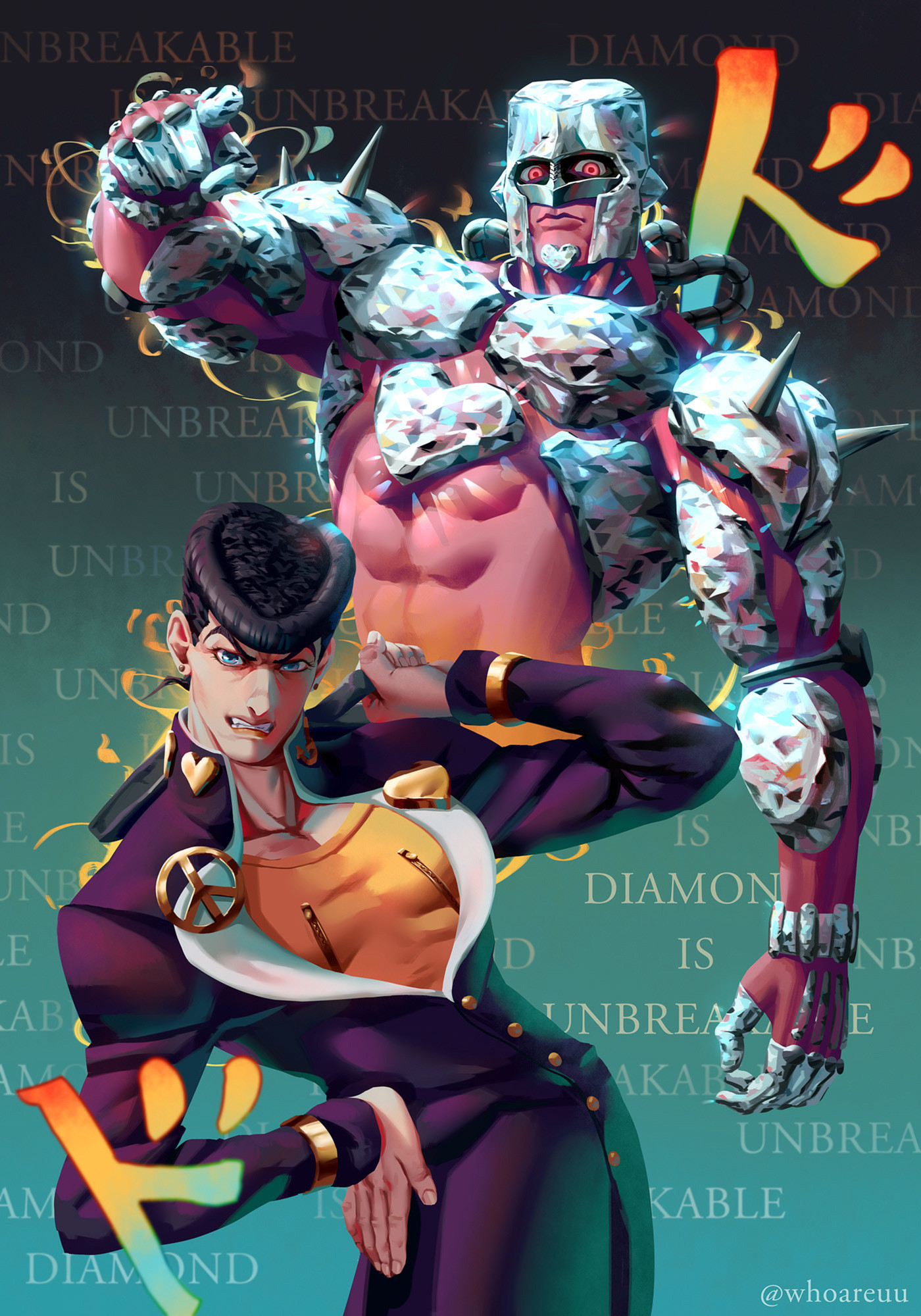 Diamond is unbreakable, WHO ._01