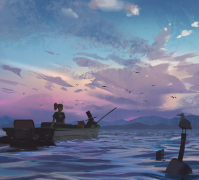 Fishing trip Final, Atey Ghailan_01
