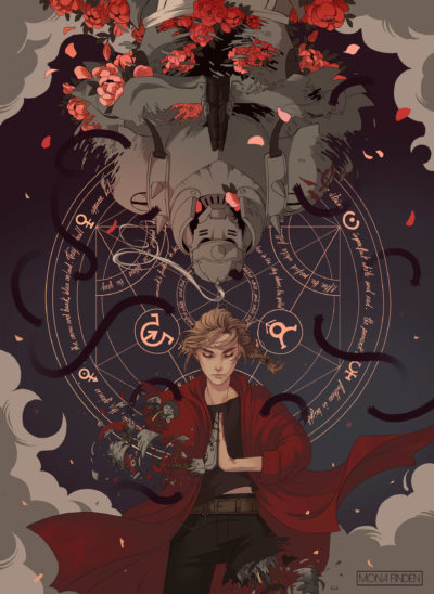 Fullmetal Alchemist Brotherhood, Mona Finden_01