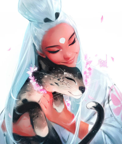Girls and Animals!, Ross Tran_01