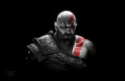 God of war and some other Sketch, wenfei ye_01