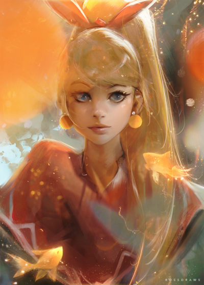 Gold Fishes, Ross Tran_01