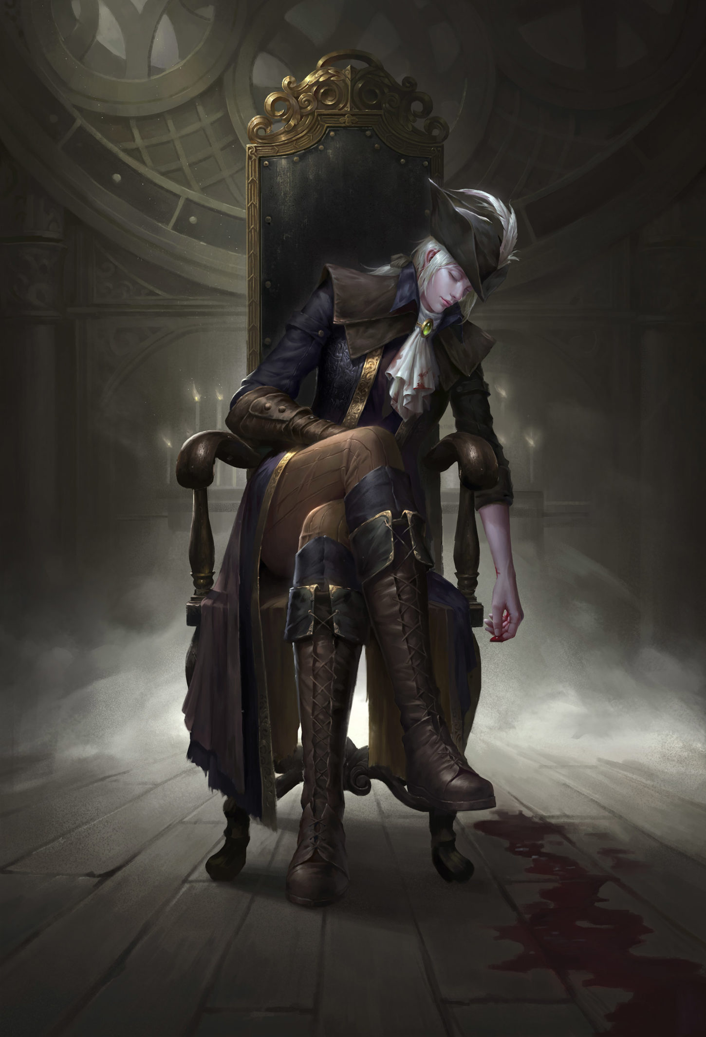 Lady Maria of the Astral Clocktower, wenfei ye_01