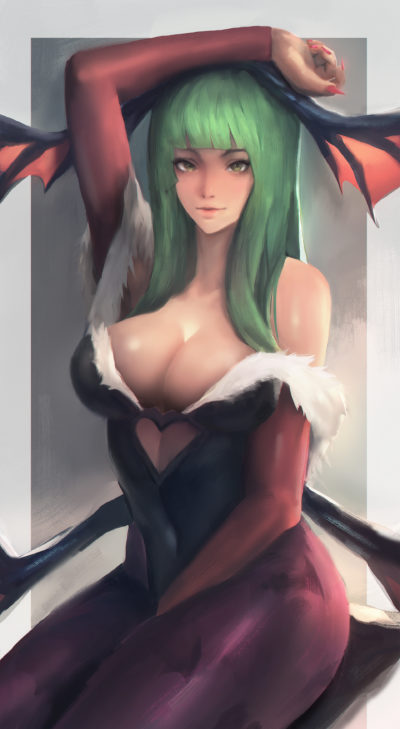Morrigan Aensland, Seuyan art_01