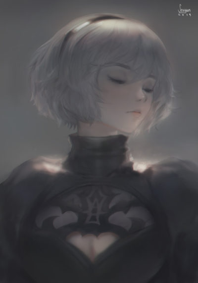 Nier 2b everything that lives is designed to end., Seuyan art_01