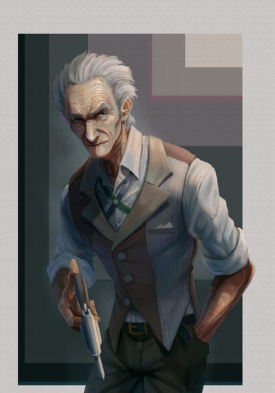 Oldman with a gun, WHO ._01