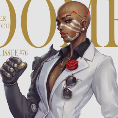 Overwatch Doomfist became a woman, in shoo_02