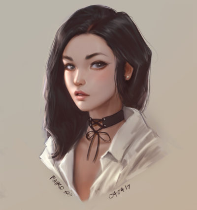 Portrait sketches, Sean 'Raiko' Tay_03