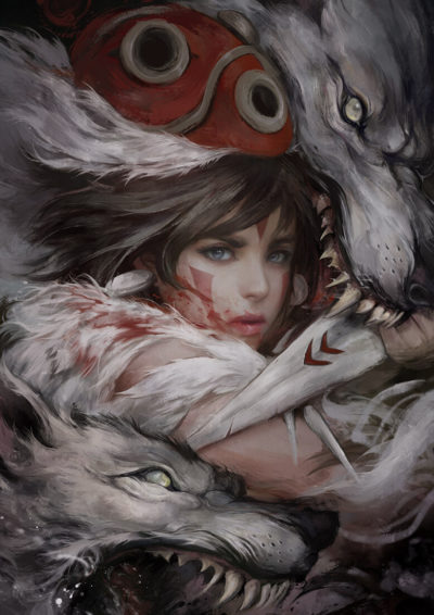 Princess Mononoke, Ignatius Tan_01