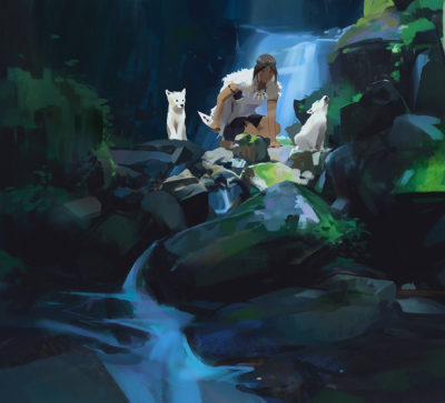 Recent sketches 2, Atey Ghailan_02