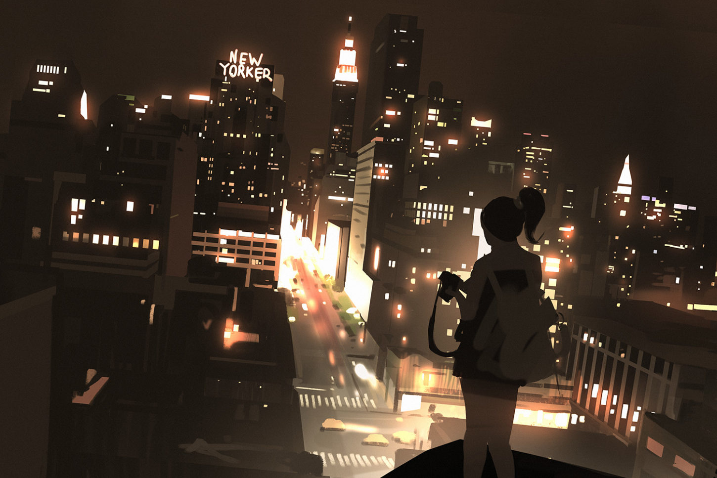 Sketch collection 1 2018 City lights, Atey Ghailan_03