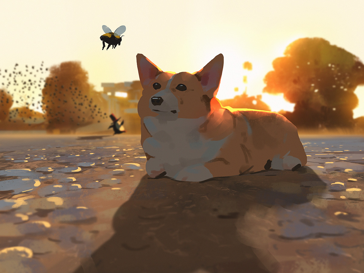 Sketch collection 12 2018 Path of Miranda_Insects, Atey Ghailan_01