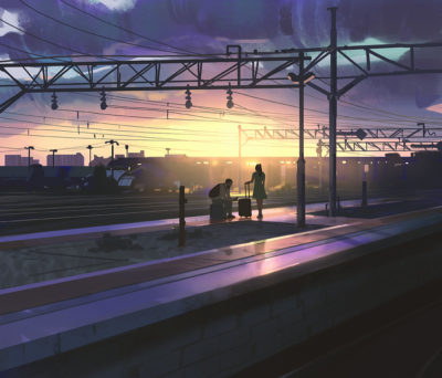 Sketch collection 13 2018 Going home, Atey Ghailan_03
