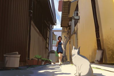 Sketch collection 15 2018 The cat returns, Atey Ghailan_05