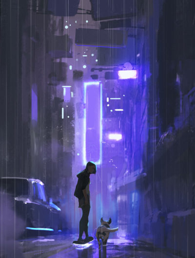 Sketch collection 19 2018 Cyberpunk, Atey Ghailan_01(1)