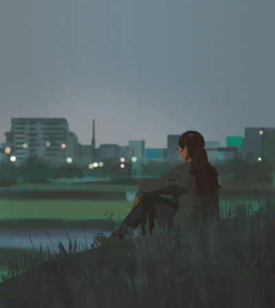 Sketch collection 2 2019 End of day, Atey Ghailan_03