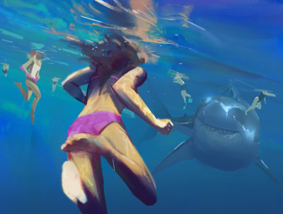 Sketch collection 22 2018 The meg, Atey Ghailan_01