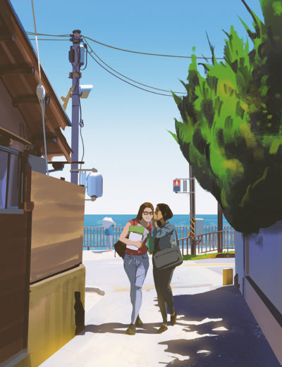 Sketch collection 3 2018 Summer gossip, Atey Ghailan_04
