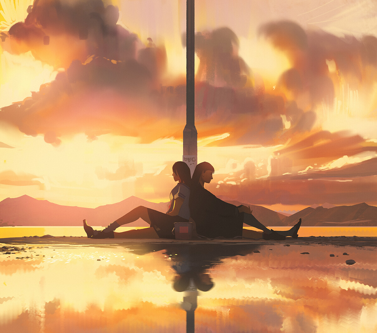 Sketch collection 3 2019 Two sides, Atey Ghailan_02